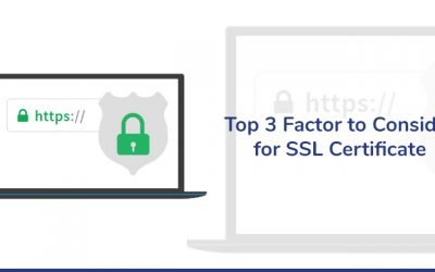 Top 3 Factors to Consider for SSL Certificate